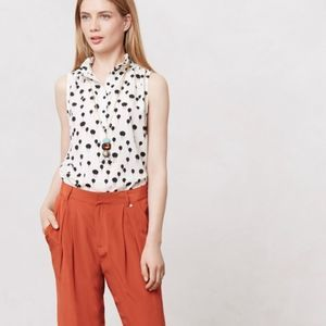 Maeve Anthropologie Float On Balloon Tank Blouse